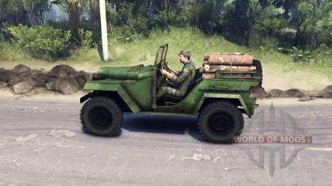 GAZ-67 B para Spin Tires