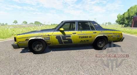 American Sedan skin1 para BeamNG Drive