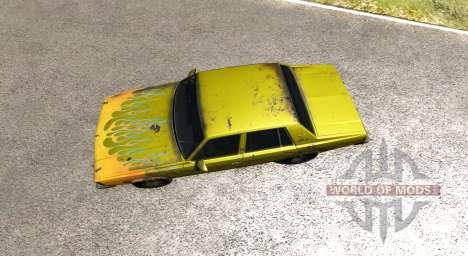 American Sedan skin5 para BeamNG Drive