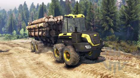 PONSSE Buffalo 8x8 AT para Spin Tires