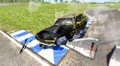 American Sedan skin3 para BeamNG Drive