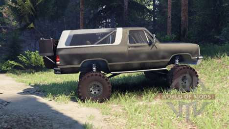 Dodge Ramcharger II 1991 default para Spin Tires