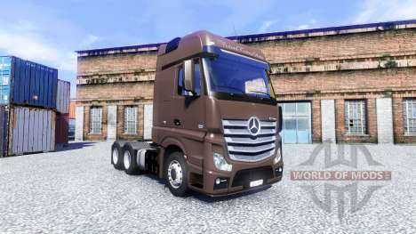 Mercedes-Benz Actros para Euro Truck Simulator 2