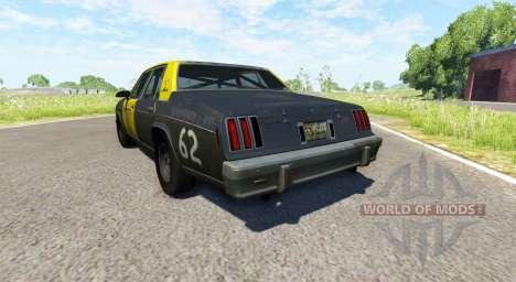 American Sedan skin4 para BeamNG Drive