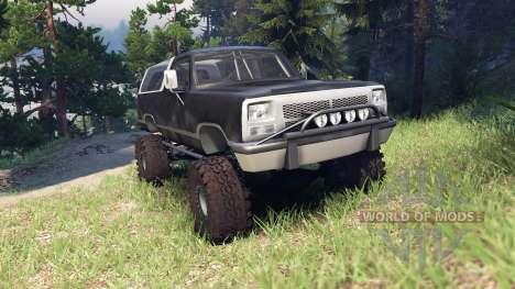 Dodge Ramcharger II 1991 default para Spin Tires