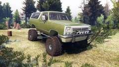 Dodge Ramcharger II 1991 green