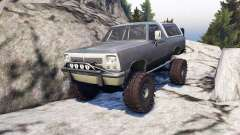 Dodge Ramcharger II 1991 grey and white