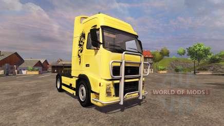 Volvo FH16 para Farming Simulator 2013