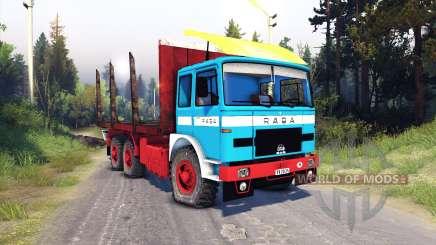 Raba-MAN 832 v2.0 para Spin Tires