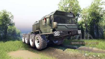 Los vehículos fueron modernizadas-7428 Rusich para Spin Tires