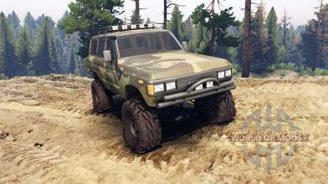 Toyota Land Cruiser 60 para Spin Tires