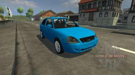 Lada Priora Coupe para Farming Simulator 2013