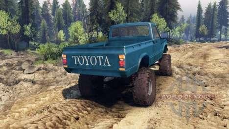 Toyota Hilux Truggy 1981 v1.1 blue para Spin Tires