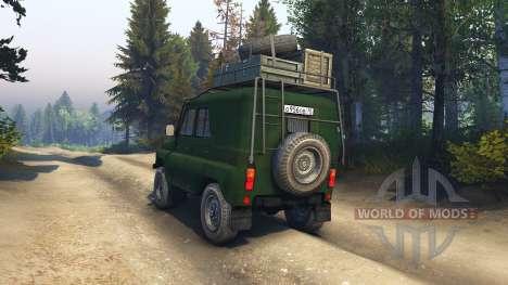 UAZ-469 B para Spin Tires