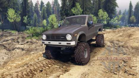 Toyota Hilux Truggy 1981 v1.1 gray para Spin Tires