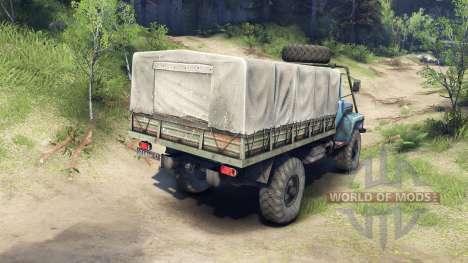 GAZ-33081 para Spin Tires