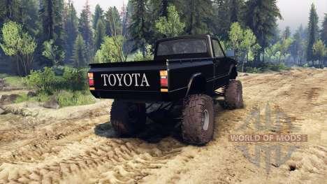 Toyota Hilux Truggy 1981 v1.1 black para Spin Tires