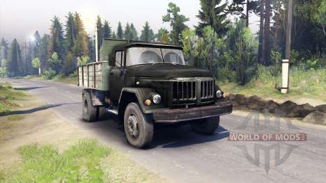 ZIL-130 MMZ-4502 para Spin Tires