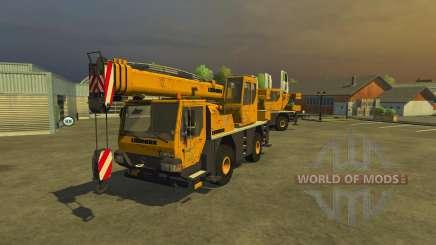 Liebherr LTM 1030 para Farming Simulator 2013
