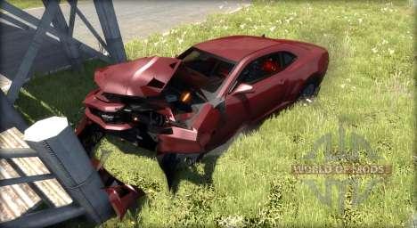 Chevrolet Camaro 2010 para BeamNG Drive
