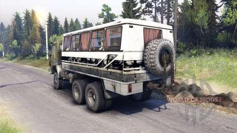 KamAZ-43101 [Final] para Spin Tires