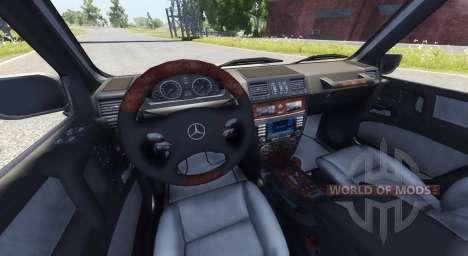 Mercedes-Benz G500 para BeamNG Drive