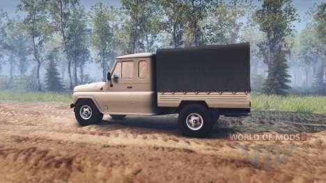 UAZ-2315 para Spin Tires