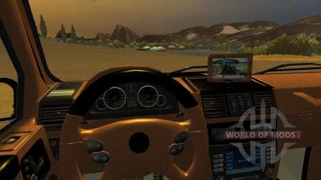 Mercedes Benz G65 AMG v2 para Farming Simulator 2013