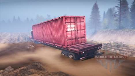 Freightliner Century Class Day Cab para Spin Tires