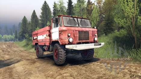 GAZ-66 AC-30 para Spin Tires