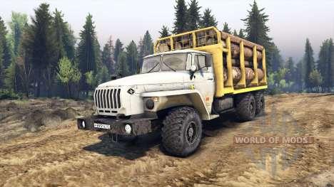 Ural-4320-30 para Spin Tires