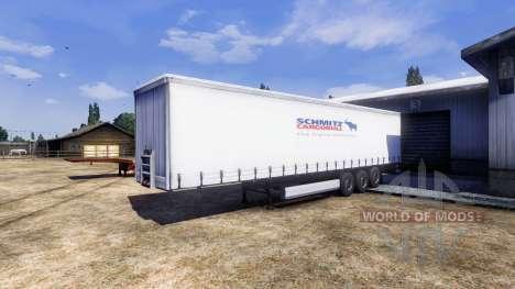 Color semi-remolque Schmitz para Euro Truck Simulator 2