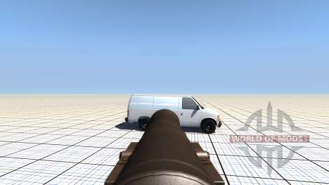 Móvil bombardear para BeamNG Drive