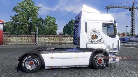 Sreen Umbral en el tractor Renault para Euro Truck Simulator 2