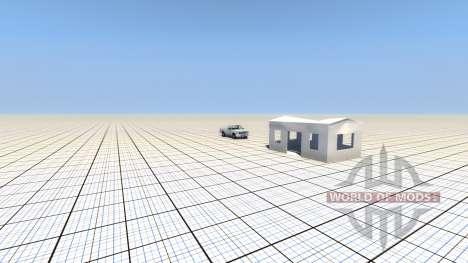 Destructibles edificio para BeamNG Drive