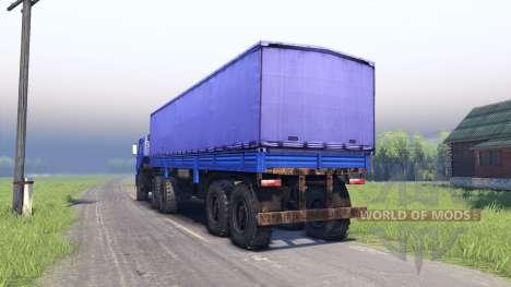 KamAZ y KAMAZ 44108-44118 para Spin Tires