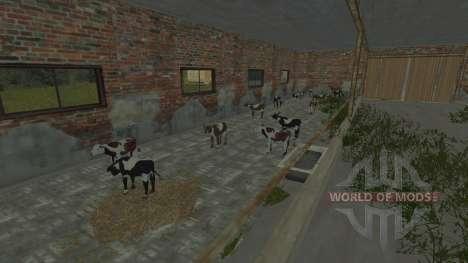 Los corrales para vacas y cerdos para Farming Simulator 2013