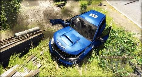 Subaru Impreza WRX STI 2008 para BeamNG Drive