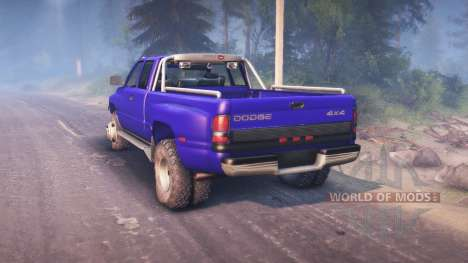 Dodge Ram 3500 para Spin Tires