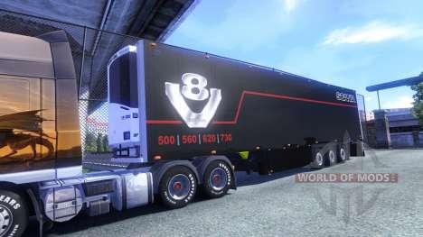 Color Schmitz Scania V8 para el semi-remolque para Euro Truck Simulator 2