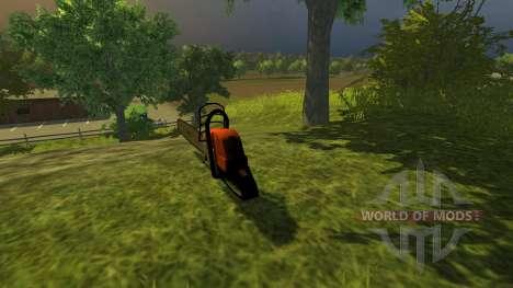 Motosierra para Farming Simulator 2013