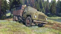 GAZ-53 verde
