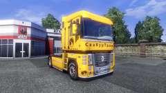 La piel Securetrans en el tractor Renault