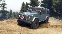 Land Rover Defender 110 blue metalic