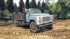 GAZ-53 azul