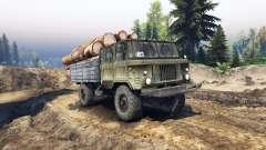 GAZ-66, con doble cabina