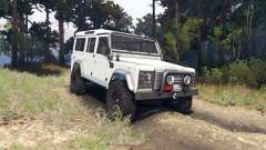 Land Rover Defender 110 white