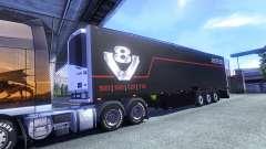 Color Schmitz Scania V8 para el semi-remolque