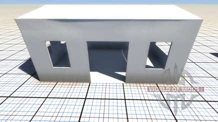 Destructibles edificio para BeamNG Drive