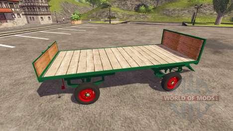 Remolque para las balas para Farming Simulator 2013